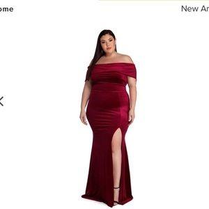 Prom dress , size 2x